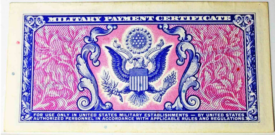 65: Military Payment Certificate Series 481 50 cents - 3