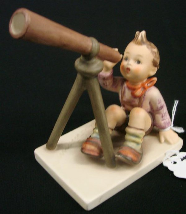 "6: Hummel Figurine ""Star Gazer"" #132 TM 6, Book Value $"