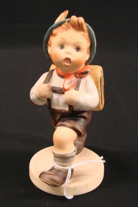 "9: Hummel Figurine ""School Boy"" #82 2/0 TM 6, Book Valu"