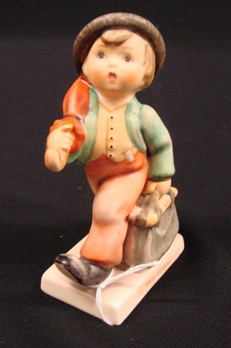 "13: Hummel Figurine ""Merry Wanderer"" #11 2/0 TM 5, Book"