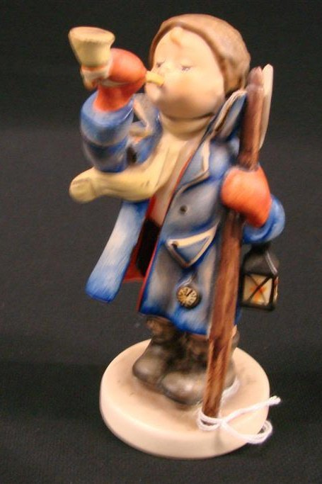 "14: Hummel Figurine ""Hear Ye, Hear Ye"" #15/0 TM 5, Book"