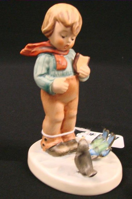 "17: Hummel Figurine ""Bird Watcher"" #300 TM 6, Book Valu"
