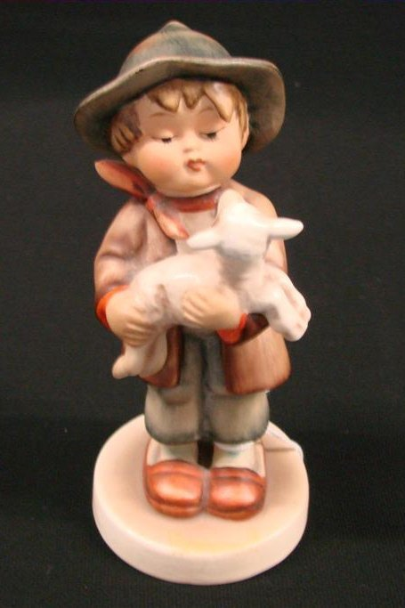 "24: Hummel Figurine ""Lost Sheep"" #68 TM 1, Book Value $"