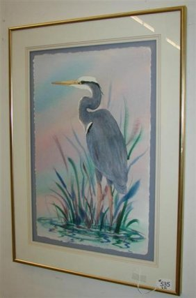 535 2 Paintings By Florida Artist Mauline Henderson Of