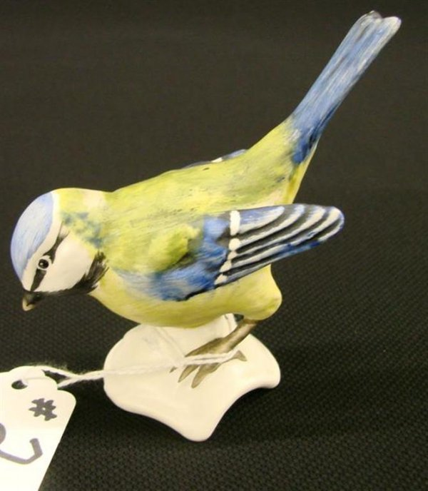 2: 2 Signed Goebel Bird Figurines One is TM 5 the Other