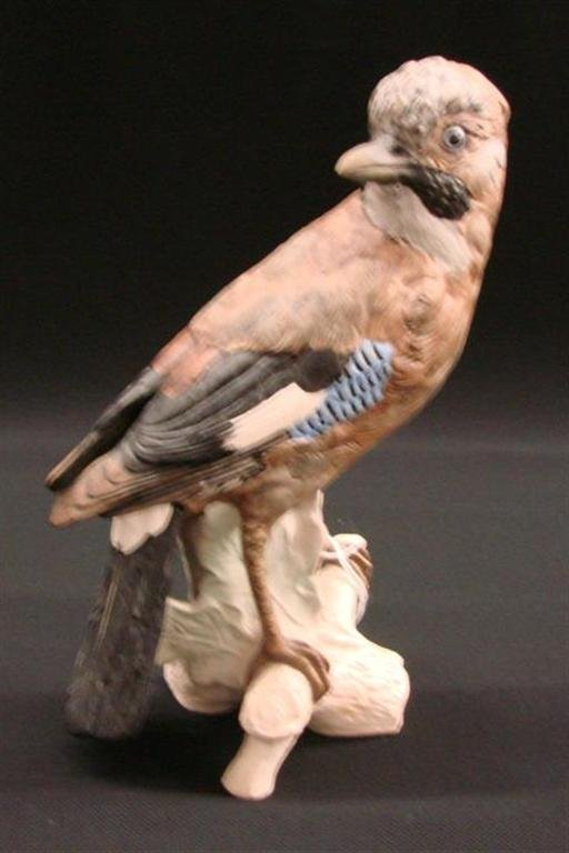 17: Signed Goebel Bird Figurine in a Matte Finish, TM 4