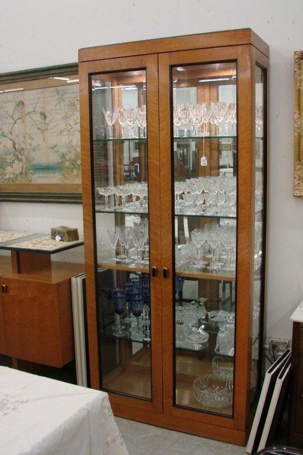 513: 11 Piece Birds Eye Maple Bernhardt Dining Room Set - 4