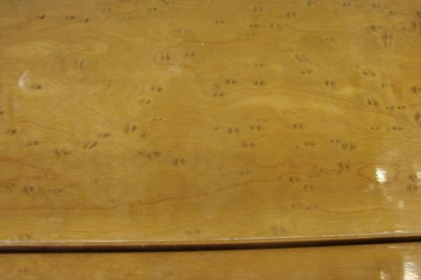 513: 11 Piece Birds Eye Maple Bernhardt Dining Room Set - 6