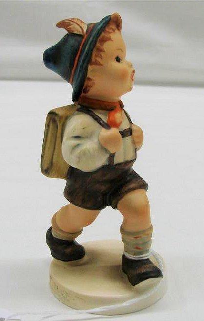 "2: Hummel Figurine: ""School Boy"" #82 2/0, TMK 3. Book V"