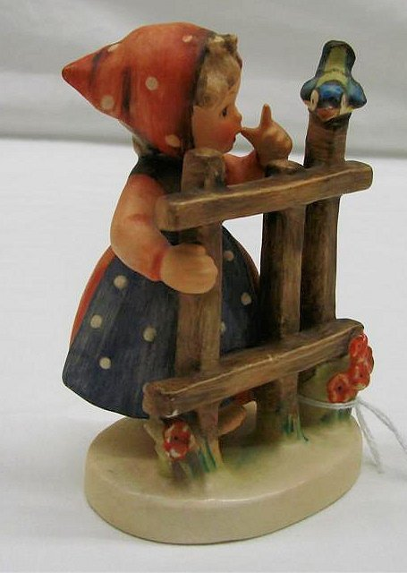 "3: Hummel Figurine: ""Signs of Spring"" #203 2/0,TMK3.Boo"