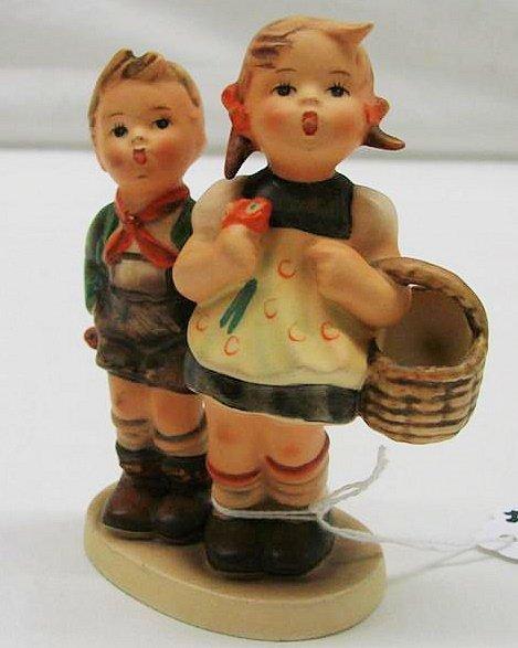 "4: Hummel Figurine: ""To Market"" # 49 3/0, TMK 3. Book v"