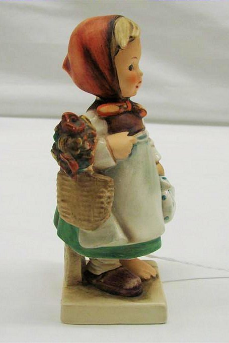 "9: Hummel Figurine: ""Weary Wanderer"" #204, TMK 3. Book"