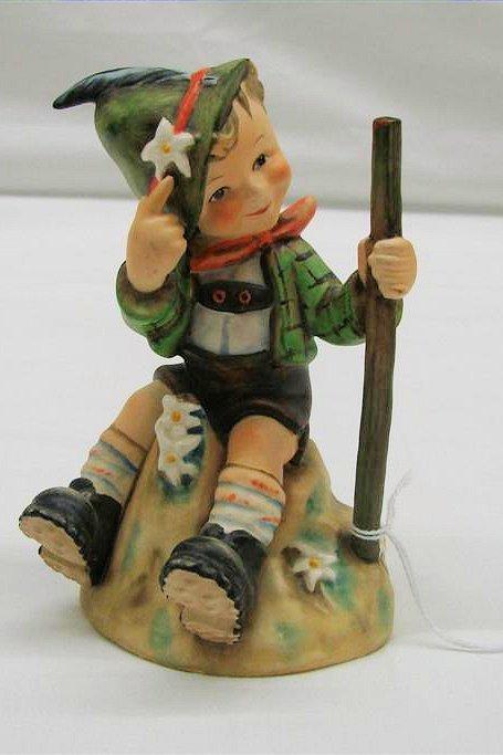 "12: Hummel Figurine: ""Mountaineer"" # 315, TMK 6. Book V"
