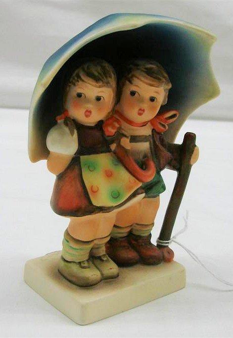"""16: Hummel Figurine: """"Stormy Weather"""" #71 2/0, TMK 6. B"""