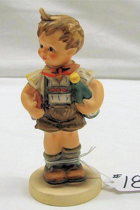 "18: Hummel Figurine: ""Valentine Joy"" # 399, TMK 6. Book"