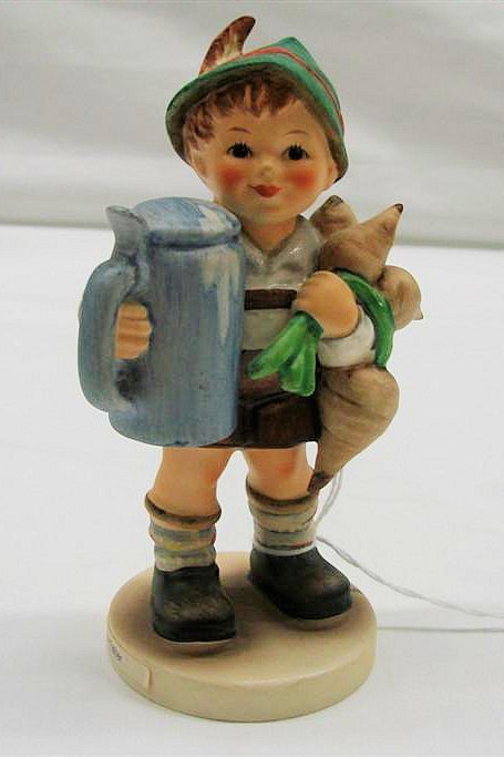 """20: Hummel Figurine: """"For Father"""" # 87, TMK 6. Book Val"""