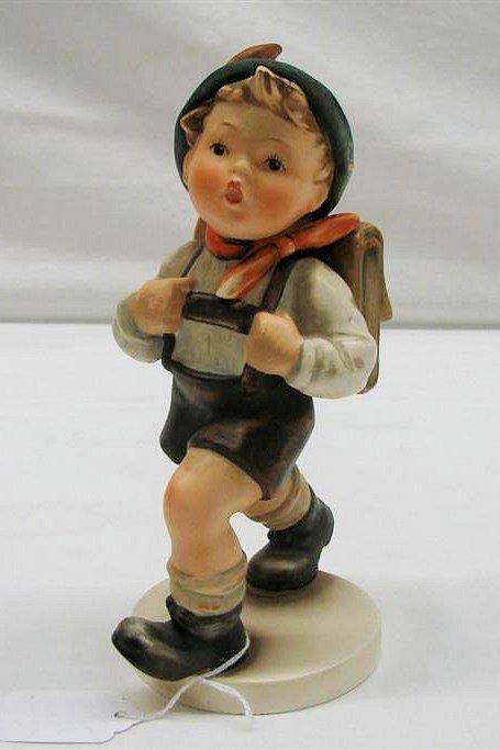 "24: Hummel Figurine: ""School Boy"" # 82/2, TMK 3. Book V"
