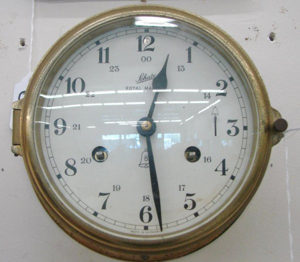 85: Schatz Royal Mariner Ships Bell Clock