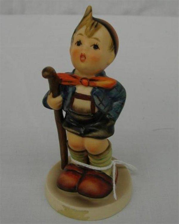 2: Hummel Figurine:  Little Hiker  #16 2/0  TM5.