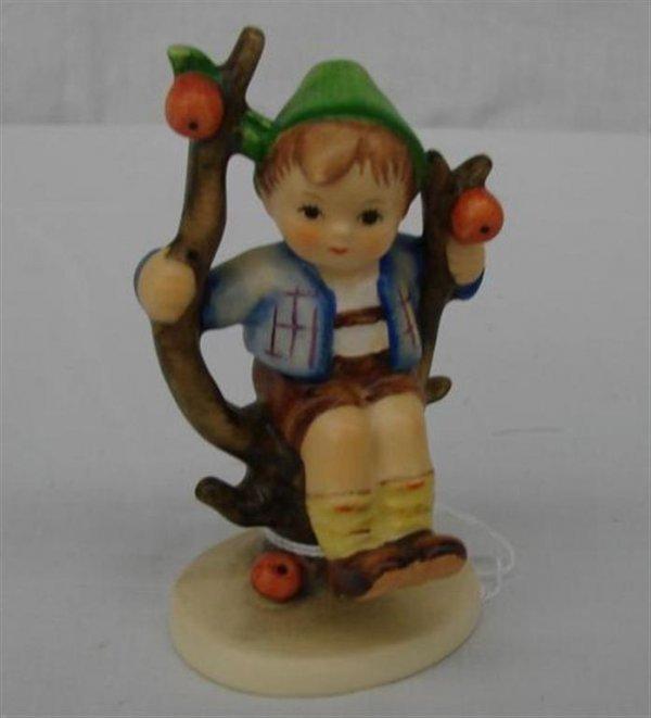 3: Hummel Figurine:  Apple Tree Boy  #142 3/0  TM3