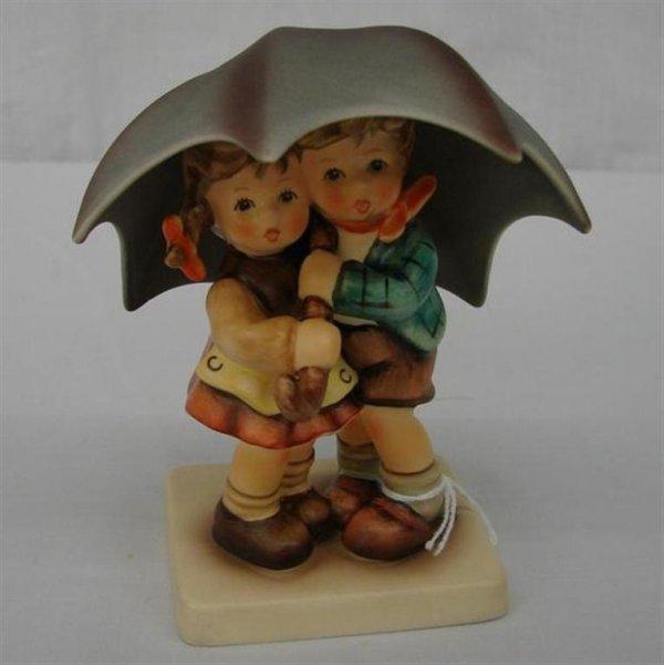 4: Hummel Figurine:  Sun Shower  #634 2/0  TM7.