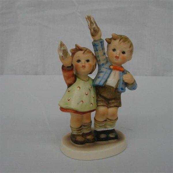 6: Hummel Figurine: Auf Wiedersehen  #153/0  TM3.