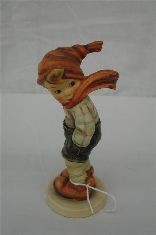 7: Hummel Figurine: March Winds  #43  TM3.