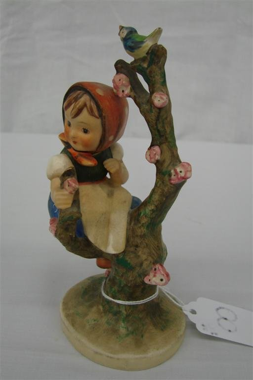 8: Hummel Figurine: Apple Tree Girl  #141/1, TM 3