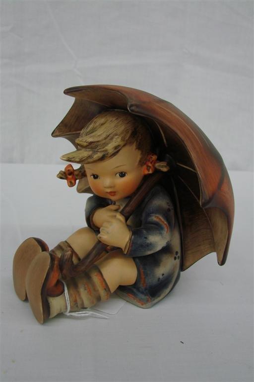 9: Hummel Figurine: Umbrella Girl  #152/0/B, TM 3