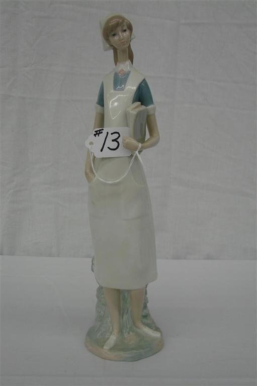 13: Lladro Figurine: Nurse #4603