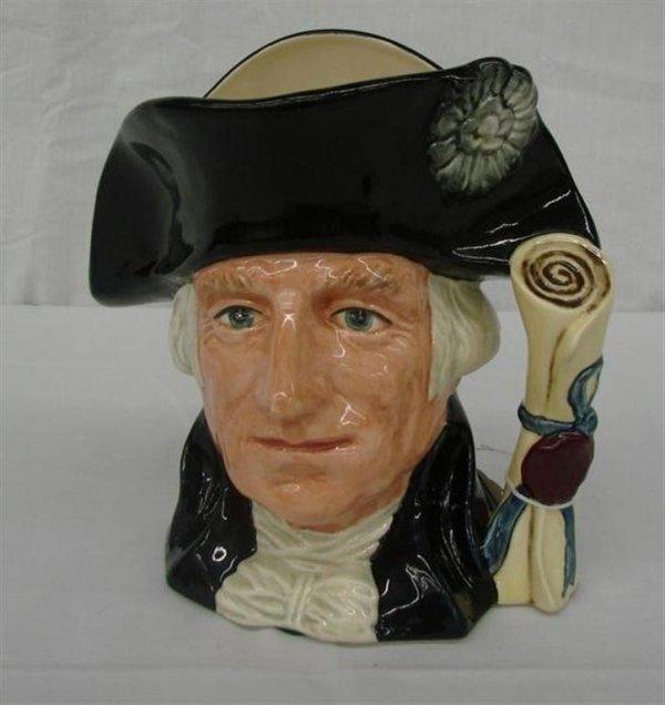 15: Royal Doulton Large Toby Jug of George Washington