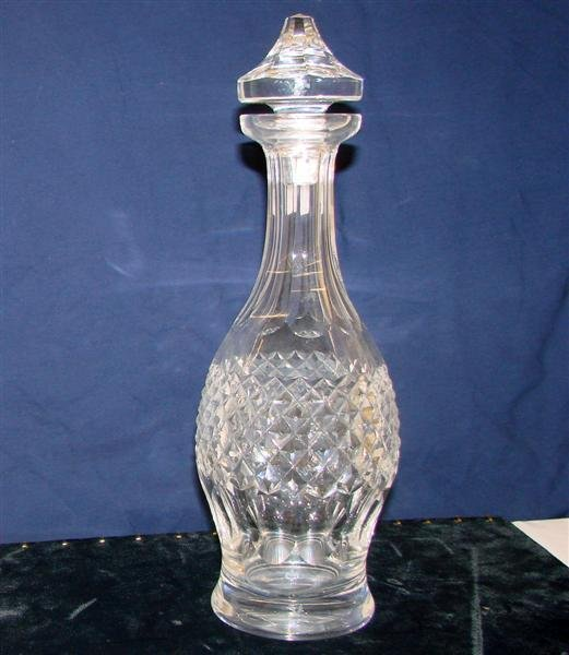 16: Signed Waterford Crystal Decanter with Stopper