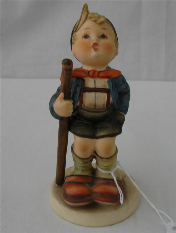 7A: Hummel Figurine: Litle Hiker  #16/1  TM3.