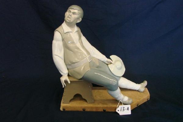 13A: Lladro Figurine 1031: Sancho Panza,