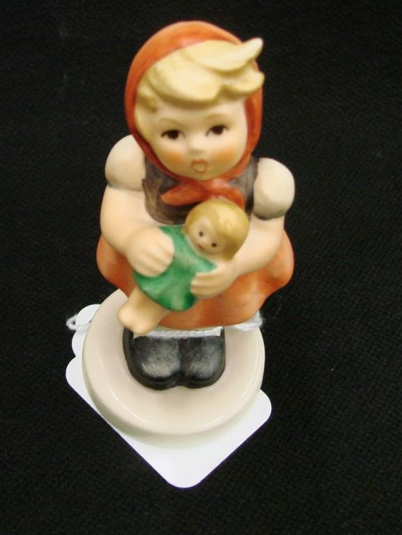 5: Hummel Figurine: Girl with Doll, # 239/B, TM 6. Book