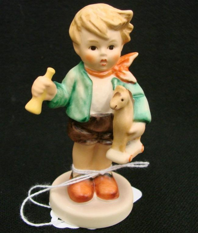 6: Hummel Figurine: Boy with Horse, #239/D; TM 6. Book