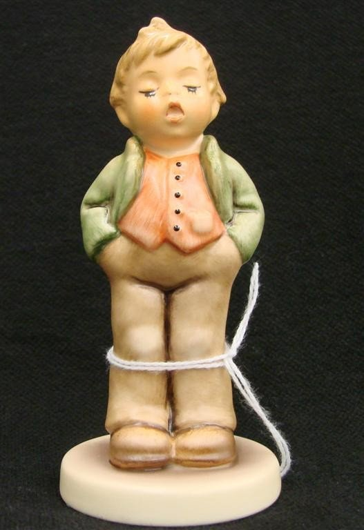 11: Hummel Figurine: Steadfast Soprano, # 848; TM 8. Co