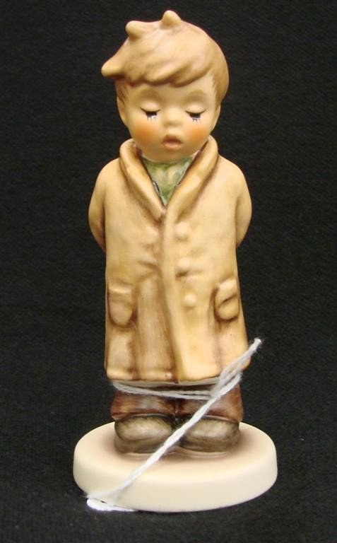 15: Hummel Figurine: Too Shy to Sing, # 845; TM 8. Coll
