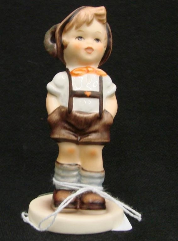 17: Hummel Figurine: For Keeps, # 630; TM 7. Collectors