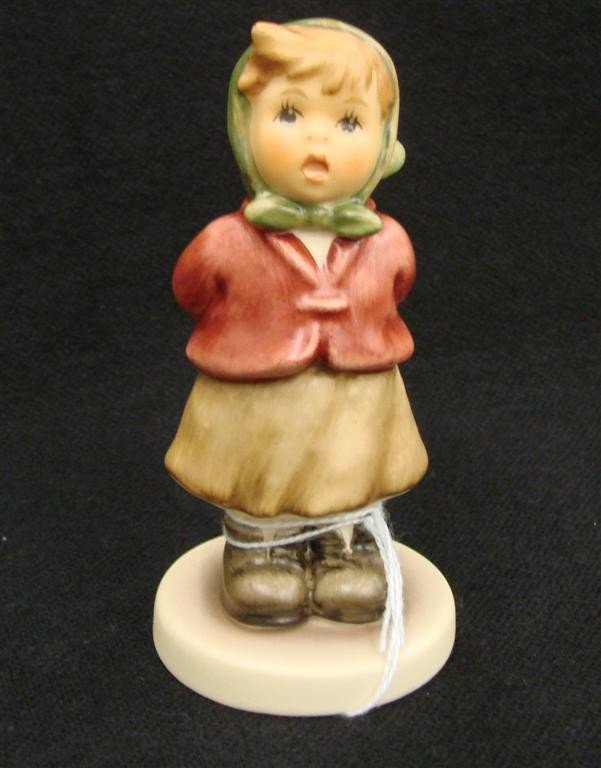 20: Hummel Figurine: Clear as a Bell, # 2181; TM 8. Col
