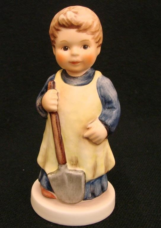 21: Hummel Figurine: Garden Treasures, # 727; TM 7. Col