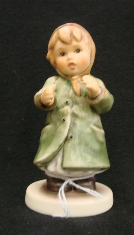 22: Hummel Figurine: Keeping Time, # 2183; TM 8. Collec