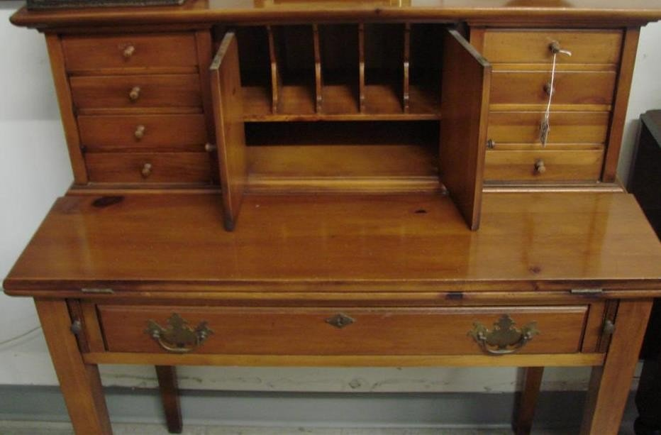 540: Vintage Ladies Writing Desk by Townshend, VT. - 3