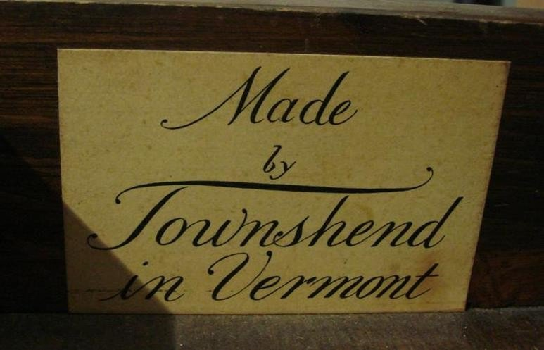 540: Vintage Ladies Writing Desk by Townshend, VT. - 4