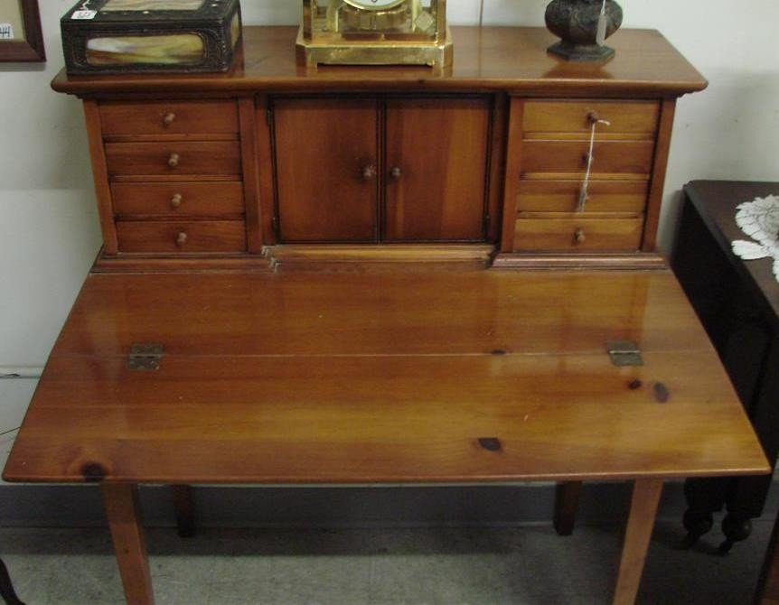 540: Vintage Ladies Writing Desk by Townshend, VT. - 6
