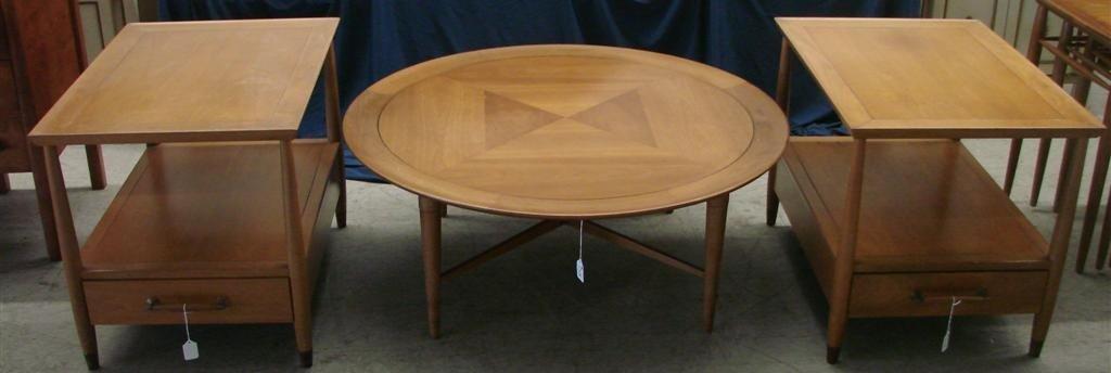715: Mid Century  Eames Era Henredon Heritage Tables