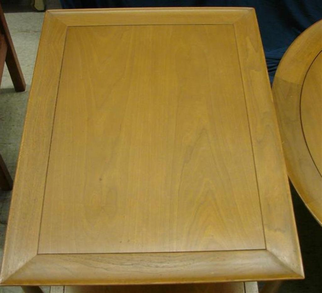 715: Mid Century  Eames Era Henredon Heritage Tables - 4