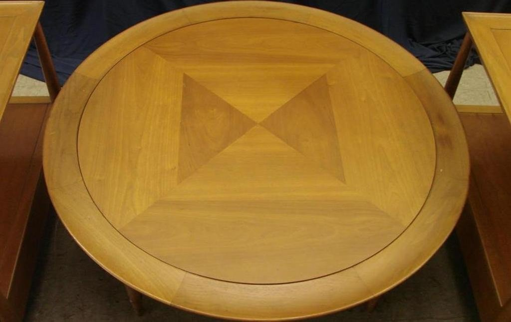 715: Mid Century  Eames Era Henredon Heritage Tables - 5