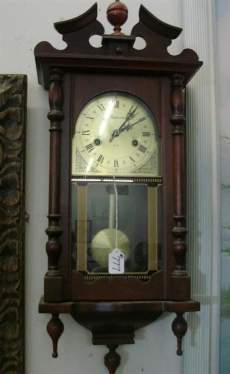 777: 31 Day Wentworth Wall Clock with Time & Strike - 2