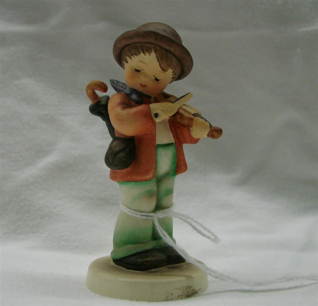 1: Hummel Figurine: Little Fiddler, #2/4/0; TM 6. 2010